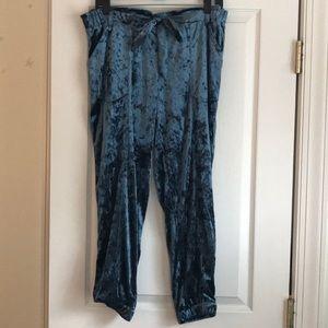 Blue Velvet Jolt Pants